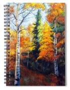 Aspens In Fall. Spiral Notebook