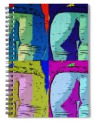 Ass Colors Spiral Notebook