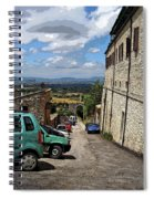 Assisi Italy I Spiral Notebook