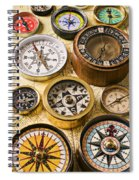 Assorted Compasses Spiral Notebook