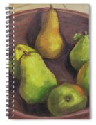 Assorted Pears Spiral Notebook