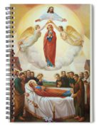 Assumption Of The Blessed Virgin Mary Into Heaven Spiral Notebook