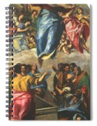 Assumption Of The Virgin 1577 Spiral Notebook