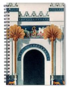 Assyrian Temple Spiral Notebook