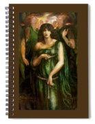 Astarte Syriaca Dante Gabriel Rossetti Spiral Notebook