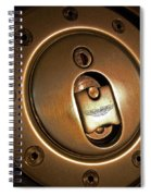 Aston Martin Fuel Filler Cap Spiral Notebook