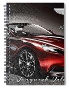 Aston Martin Vanquish Volante  Spiral Notebook