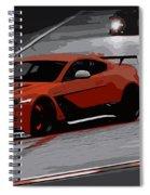 Aston Martin Vantage Gt12 Spiral Notebook