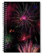 Astonishing Fireworks Spiral Notebook