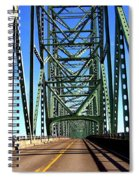 Astoria-megler Bridge Spiral Notebook