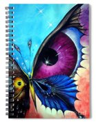 Astral Butterfly. Soul - Memory - Mind Spiral Notebook
