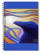 Astral Raven Spiral Notebook