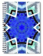 Astral Star Mandala Spiral Notebook