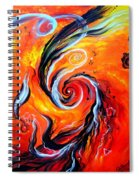 Astral Travels. Fire Way Out Of The Death Spiral Notebook
