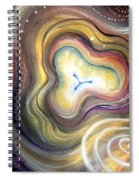 Astral Vision. Mind Concentration Spiral Notebook