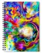 First Breath.. Spiral Notebook