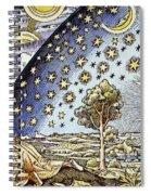 Astrology, 16th Century Spiral Notebook