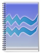 Aquarius January 19 - February 18 Sun Sign Astrology  Spiral Notebook