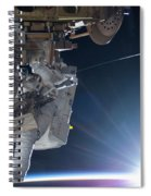 Astronaut Terry Virts Eva Spiral Notebook