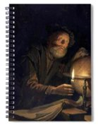 Astronomer 1655 Spiral Notebook