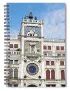 Astronomical Clock At San Marco Square Spiral Notebook