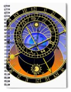 Astronomical Clock Spiral Notebook