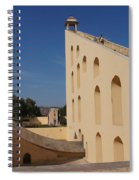 Astronomy Of Giants. Samrat Yantra. Spiral Notebook