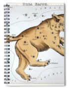 Astronomy: Ursa Major Spiral Notebook