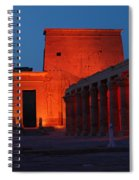 Aswan Temple Of Philea Egypt Spiral Notebook