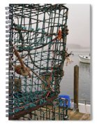 At Anchor On Cape Porpoise Spiral Notebook
