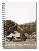 At Atascadero War Manuevers Circa 1915 Spiral Notebook