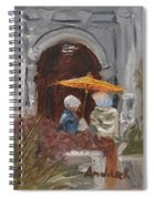 At Balboa Park Spiral Notebook