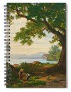 At Lake Sempach Spiral Notebook