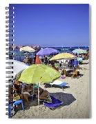 At Mondello Beach - Sicily Spiral Notebook