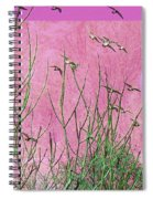At One With The Birds Spiral Notebook