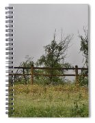 At Peters Canyon In The Rain 1 Spiral Notebook