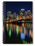 At Rivers Edge In Pittsburgh Spiral Notebook