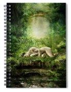 At Sleep Spiral Notebook