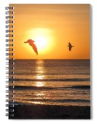 At Sunrise Spiral Notebook