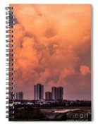 At Sunset In West Palm Beach Spiral Notebook