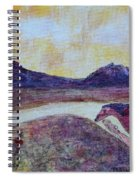 At Sunset, We Ride Spiral Notebook