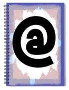 At Symbol Spiral Notebook