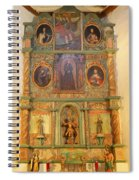 At The Alter San Miguel Mission Santa Fe New Mexico Spiral Notebook