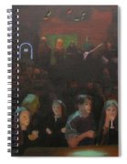 At The Bar Spiral Notebook