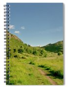 At The Base Of The Ancient Volcano. Spiral Notebook