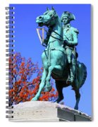At The Battle Of Princeton Spiral Notebook