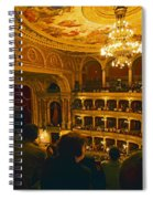At The Budapest Opera House Spiral Notebook