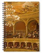 At The Budapest Opera Spiral Notebook