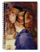 At The Cafe 1877 Spiral Notebook
