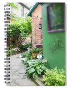 At The Corner Of Summer And Love Spiral Notebook